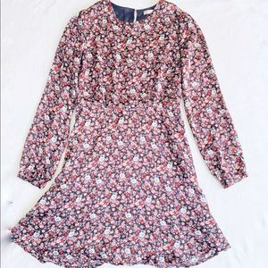 FOREVER 21 Contemporary Floral Flare Dress